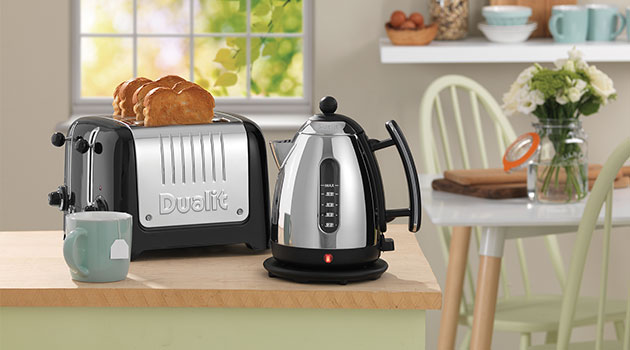 dualit kettle and toaster set
