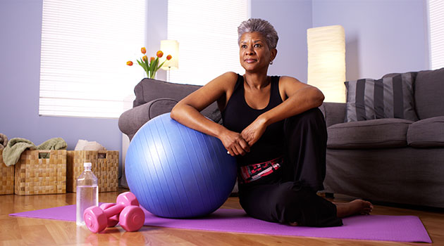 at home exercises self isolation