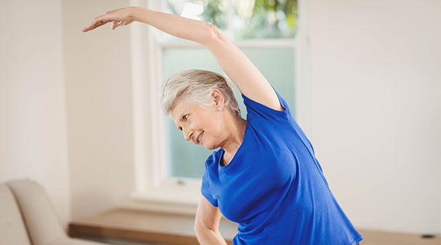exercise older people self isolation