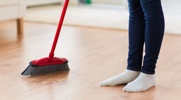 sweepingcleaninghousework is a big no no over the 15 days of chinese new year so put your feet up and avoid sweeping away your good fortune - Chinese New Year Superstitions