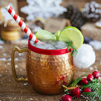 non alcoholic christmas cocktails