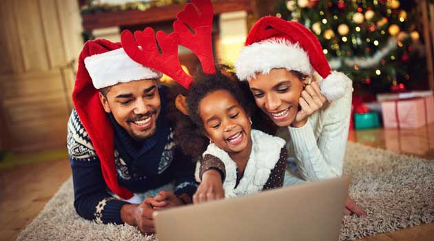 Family Christmas.How To Cope With Family Stress At Christmas