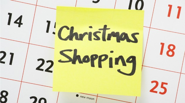 Christmas planning and saving