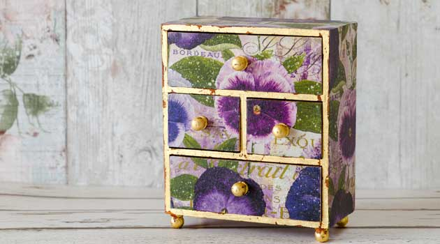 decoupage box gift