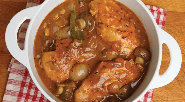 Slow cooker chicken and bacon stew recipe