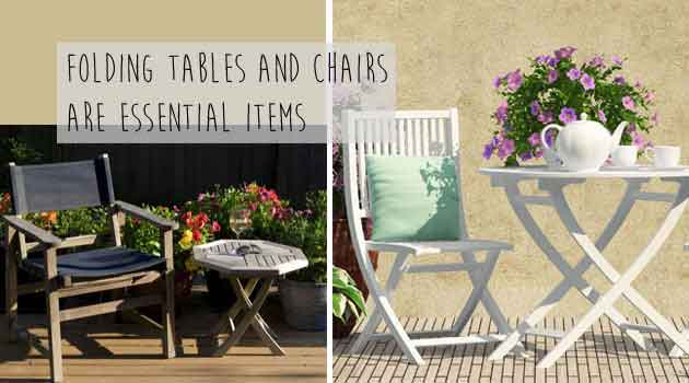 folding garden furniture