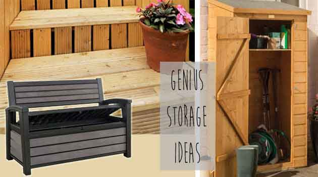 garden storage ideas