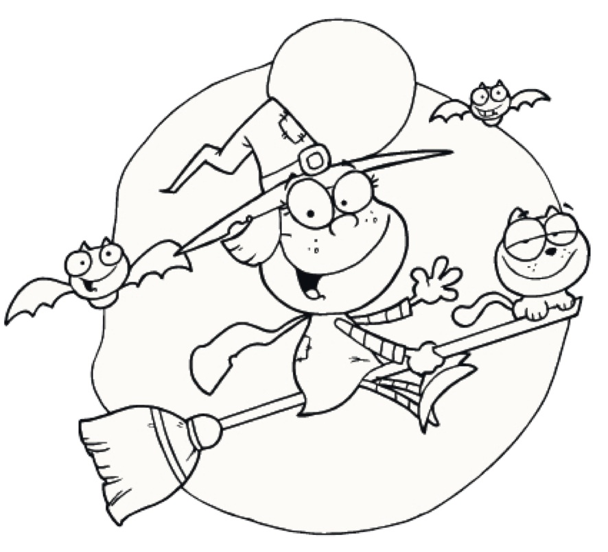 Halloween Coloring Pages Pilnates