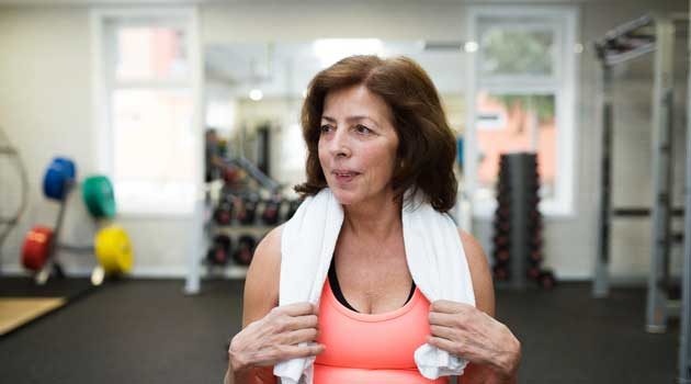 Over 60s discounts - gym memberships