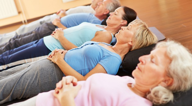 Exercise group relaxation