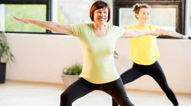 exercise for over 50s