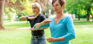 Tai Chi for over 50s