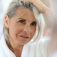 transition to grey hair