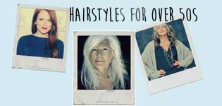 hair styles for over 50s