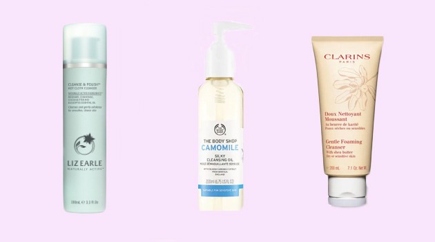 skin care cleansers