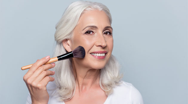 Best makeup for older women