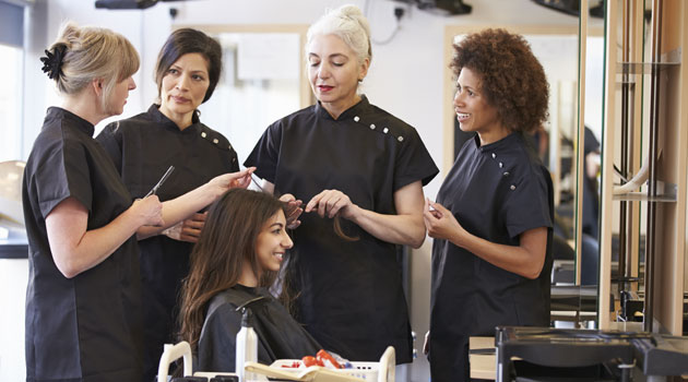 empire beauty school haircuts how to get the most out of your hairdresser 4143 | all hairdressingcollege shutterstock