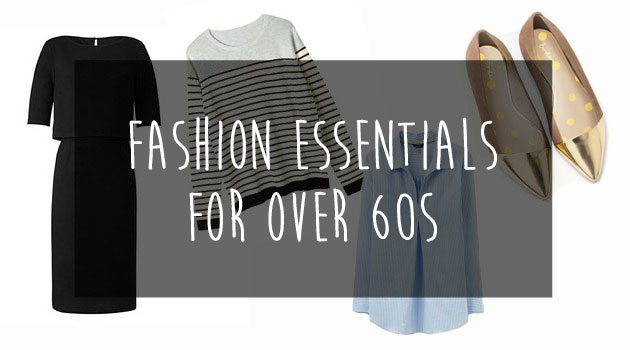 Fashion basics for over 60s