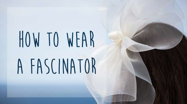How To Wear A Wedding Fascinator Gransnet