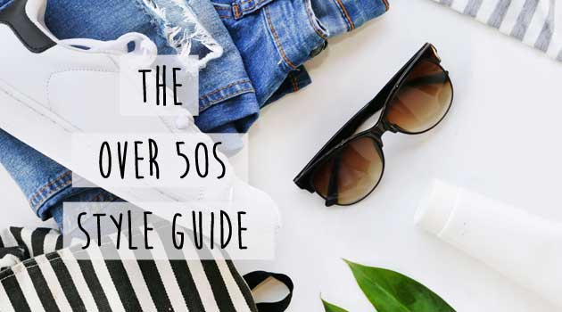 Over 50s style guide