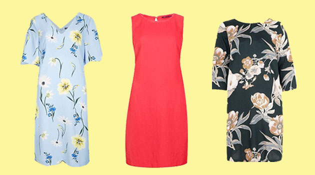 fifty plus spring dresses shift styles