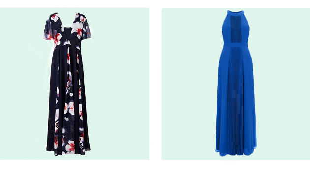 maxi wedding guest dresses