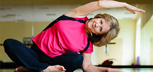 yoga for over 60s