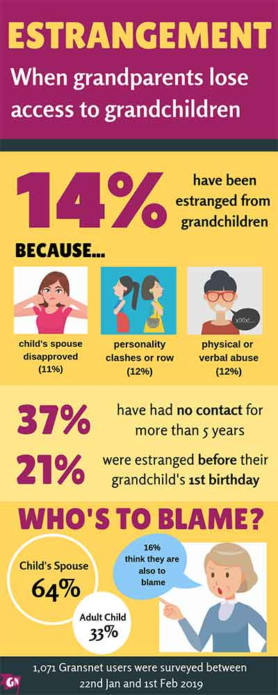estrangement survey infographic